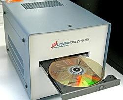 анализ крови на DVD-приводе