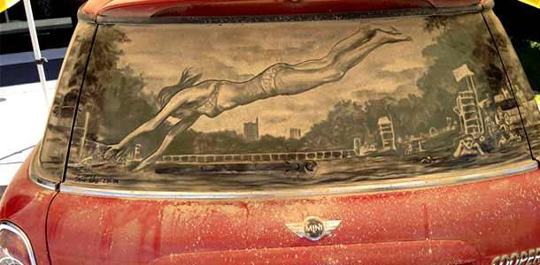 Scott Wade - художник грязных автомобилей