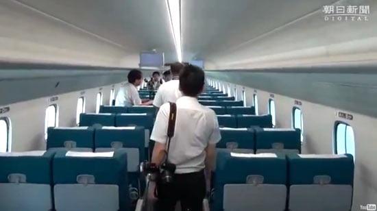 JR Tokai L0 Series Shinkansen - поезд на магнитной подушке