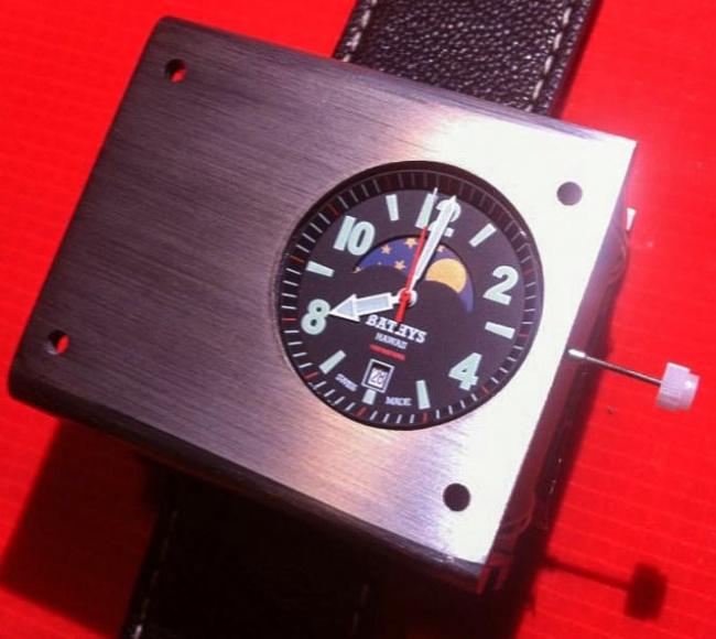 Атомные наручные часы от компании Bathys Hawaii