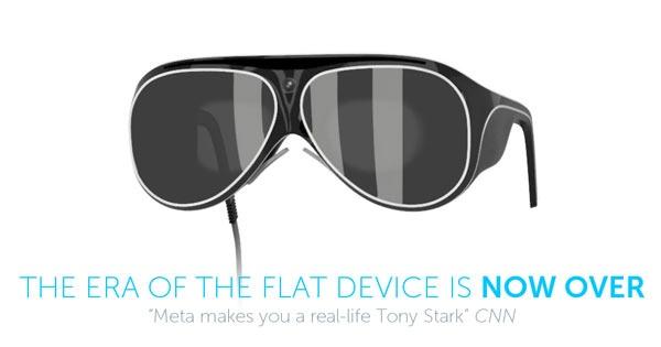 Очки MetaPro Glasses - дополенная реальность