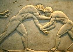 Древнейший договорной спортивный поединок