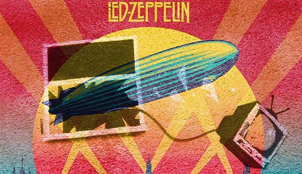 Led Zeppelin и телевизор