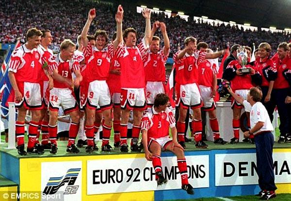 Сборная Дании на Чемпионате Европы 1992 года
