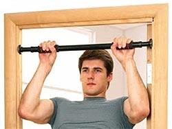 Турник домашний - качаем мышцы дома