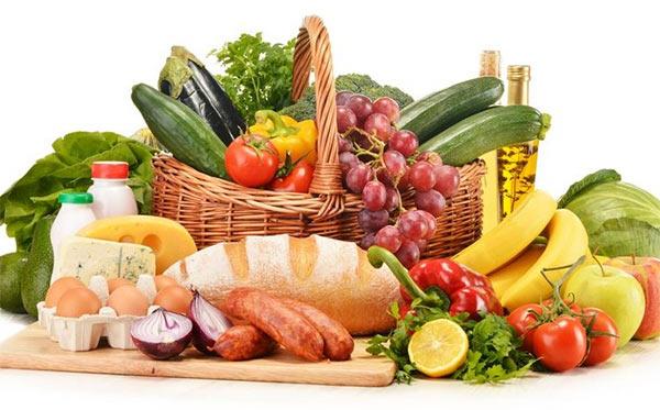 Калорийность продуктов питания