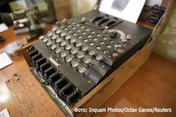 Шифровальная машина Вермахта Enigma I