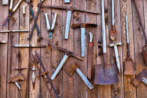 Металлический инструмент - как хранить правильно