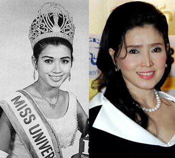 Апасра Хонгсакула - Мисс Вселенная 1965 - королева красоты Тайланда