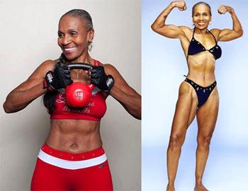 Эрнестина Шепард - американская спортсменка - бодибилдер