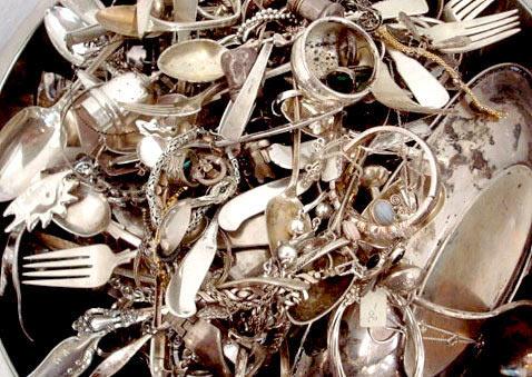 Изделия из серебра - очистка, уход