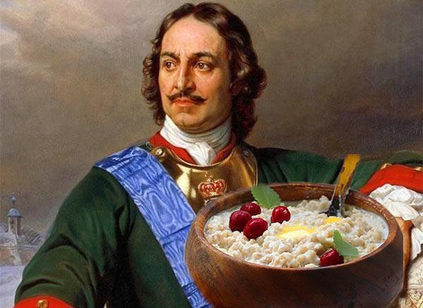 Жемчужная каша - любимый рецепт Петра Первого