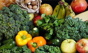 Протирка овощей и фруктов перекисью водорода