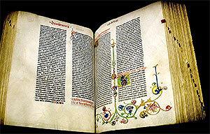 Библия Гутенберга - Иоганн Гутенберг