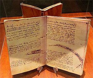 Лестерский кодекс - Леонардо да Винчи