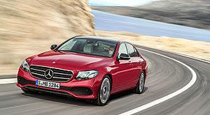 Mercedes-Benz E-Class седан - Десятка самых безопасных автомобилей 2018