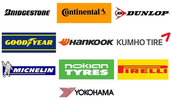 Выбор шин среди известных брендов