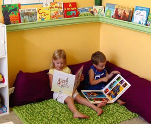 Читальный уголок - 10 способов привить ребёнку любовь к чтению