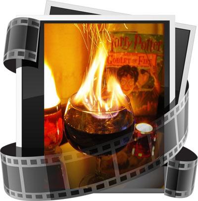 Коктейль Кубок Огня из Гарри Поттера