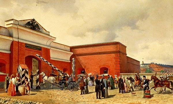 Таможня, XIX век