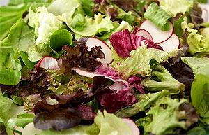 Зелёные салаты - Простые продукты, которые успокоят нервы